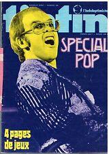 B15- Tintin l'hebdoptimiste N°104 Special Pop Music,Wen Tounga