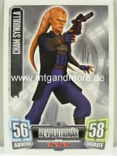 Force Attax Serie 2 Cham Syndulla #069