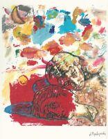 Jannis PSYCHOPEDIS Rare Small Open Edition Giclee Pigment Print Greek 2010