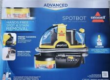 Bissell Portable SpotBot Spot and Stain + 8 Oz Carpet Cleaner Antibacterial ~NEW