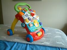 V Tech First Steps  Musical Baby Walker and Play Space and Musical Toy