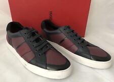 NIB $275 Boss Hugo Boss Fuster Men's Sneakers Dark Red 10 US