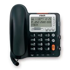 Vtech Corded Big Button Telephone, Volume Boost And Caller ID - Black (CD1281)™