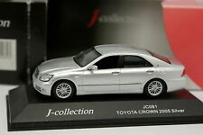 J Collection 1/43 - Toyota Crown 2005 Silver