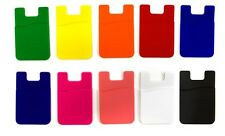 10 Pack Stick-on Wallet For Your Mobile Phone Multi Color For iPhone Or Galaxy