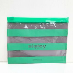 1x Sisley see through Clear Makeup Cosmetic Bag / Case / Pouch, Brand NEW!