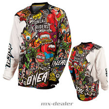 Maglia Off-road O'neal Mayhem Lite Jersey Crank Black/multi M