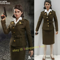 Pre-order 1//6 Scale JXTOYS 032 Peggy Carter Captain America 12in Action Figure