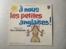 33 TOURS / LP BOF / OST--A NOUS LES PETITES ANGLAISES--MORT SHUMAN--1976