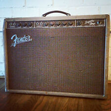 1960 Vintage Fender Brown Super Guitar Amp