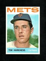 1964 TOPPS #57 TIM HARKNESS NEW YORK METS NM/MT+ (OR BETTER)