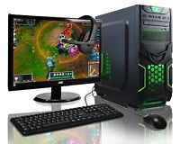 AMD A8-7650K 3.8GHz Quad Core 8GB Gaming Computer PC Package WiFi Windows 10