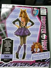 halloween clothes monster size 8-10