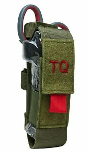 VISM Tourniquet & Tactical Shear Pouch MOLLE Medic Gear First Aid Responder ODG-