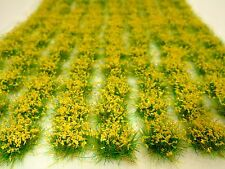 YELLOW FLOWERS 117 Realistic TUFTS/ Sheet: UK Quality USA SELLER w FAST Shipping