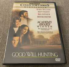 GOOD WILL HUNTING Matt Damon, Robin Williams (DVD 1998 Collectors Series) NEW!