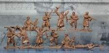 Plastic Toy Soldiers Infantry WWII Russian infantry 1943 set 1:32 54 mm