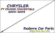 "2005-2008 Chrysler PT Cruiser Convertible 32"" Black Stainless AM FM Antenna Mast"