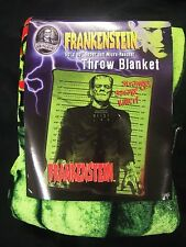 New Frankenstein Monster Dead Zombie Halloween Movie Plush Fleece Throw Blanket