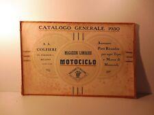 Magazzini lombardi del motociclo.  Golfieri. Accessori, ricambi, 1930, moto