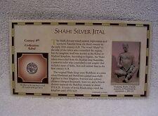 Shahi Silver Jital Coin - 8th Century  Circa 750-900 A.D.  Shahi Kings