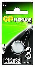 6x GP CR2032 3V Lithium Plip Battery Coin Cell DL2032