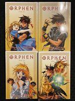 Orphen 1, 2, 4, 5 Graphic Novel Manga Fantasy Action ADV English OOP