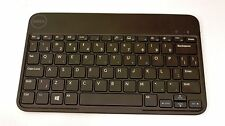 DELL Venue 8 Pro Wireless Bluetooth Keyboard K07M Black **FRESH BATTERIES**