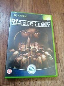 Def Jam Fight For NY - Original Xbox - CIB VGC PAL Rare