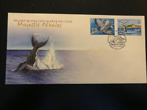 Pitcairn Islands 2006, FDC, Humpback Whale, Excellent Condition