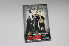 The Addams Family Instruction Manual Snes