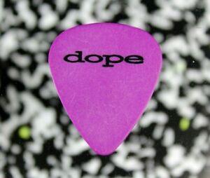 DOPE // Concert Tour Guitar Pick // Purple/Black Ace of Spades