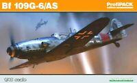 Eduard Profipack 1:48 Messerschmitt Bf 109G-6/AS Aircraft Model Kit
