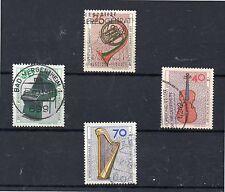 Alemania Federal Musica Instrumentos Musicales serie año 1973 (DH-163)