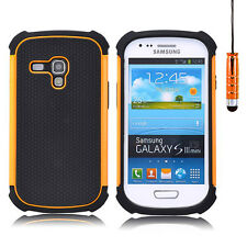 A prueba de golpes Funda Para Samsung Galaxy S4 / S3 / Mini + Protector De Pantalla + Stylus