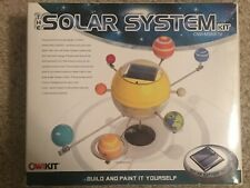 OWI The Solar System - Mini Solar-Paneled Driven Motor Educational Science Kit