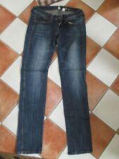 2 Jeans Röhre Damen blau und schwarz Bianca MANGO Größe 34
