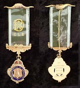 VINTAGE R.A.O.B. GLE NAPLES GRAND LODGE of ENGLAND BUFFALO BREAST JEWEL MEDAL