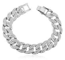 2e1ddccc3677b Diamond Yellow Gold Bracelets for Men for sale | eBay