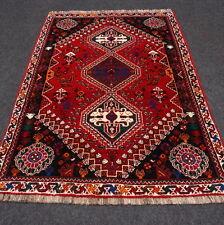 Orient Teppich Dunkelrot 163 x 112 cm Perserteppich Handgeknüpft Carpet Alfombra