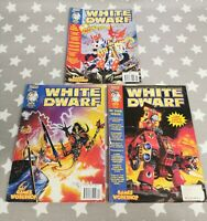 Warhammer 40k Games Workshop White Dwarf Magazine 1996 BUNDLE 203, 204, 205