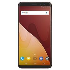 Wiko View Prime 64GB Dual-SIM Smartphone kirschrot 5,7 Zoll Android 7.1 (Nougat)
