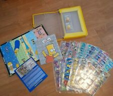 Simpsons STAKS Collectible Game COMPLETE SET 240 + Spares In Folder PANINI