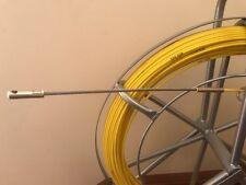 NBN TELSTRA FIBREGLASS RODDER FISH SNAKE CABLE PULLER 4.5 MM X 100MTS FLEXI HEAD