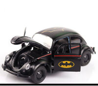 1/32 Scale Batman Diecast Car Model Beetle Classic Vehicles Car Toy Gift Black