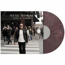 NEAL MORSE - LIFE & TIMES - LP AUBERGINE VINYL NEW SEALED 2018 - COPY # 084/200