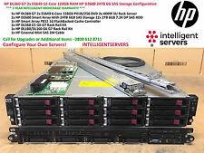 HP DL360 G7 2x E5649 12-Core 128GB HP D2600 24TB 6G SAS Storage Configuration