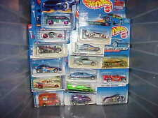 Hot Wheels Lot of 100 Different Carded Hot Wheels from 1998-2016 Free Shipping