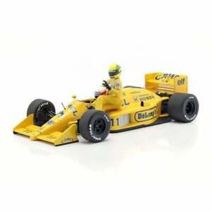 Minichamps 1:18 Lotus Honda 99T Ayrton Senna Riding On Nakajima's F1 Car 1987