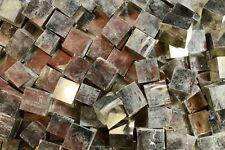 "Pyrite Crystal Cube 3/8"" 2 Pieces Navajun Spain Third Eye Raw Natural Gemstone"